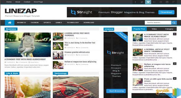 Thiết kế blogspot chuyên nghiệp