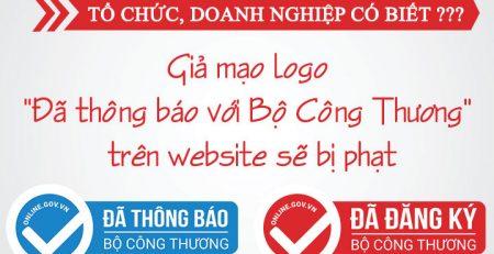Mức phạt khi không đăng ký website với bộ công thương