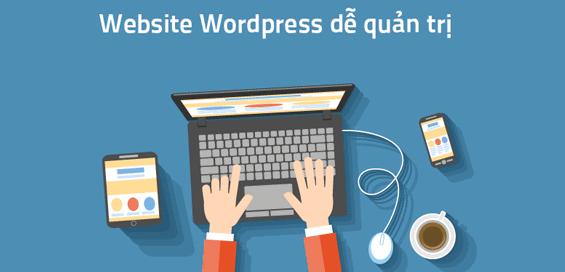 Thiết kế website wordpress dễ quản trị